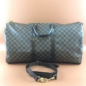 Preowned Louis Vuitton Keepall 55 Bandouliere